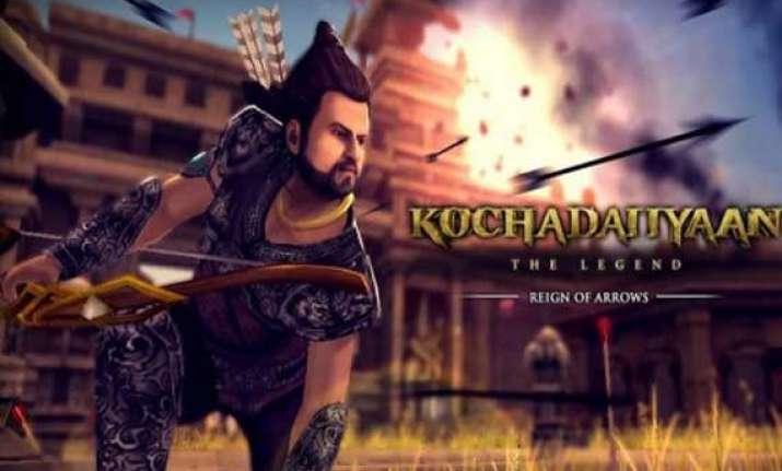 rajinikanth s kochadaiiyaan mobile games surpass 1 mn