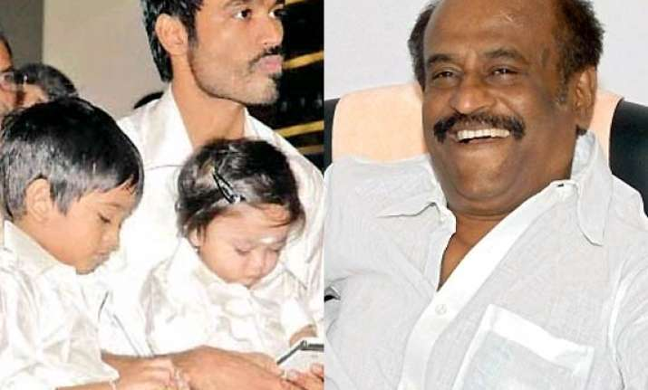 rajinikanth to star in lingaa named after grandson see pics
