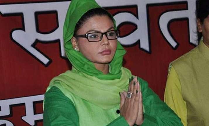 rakhi sawant joins rpi challenges raj thackeray
