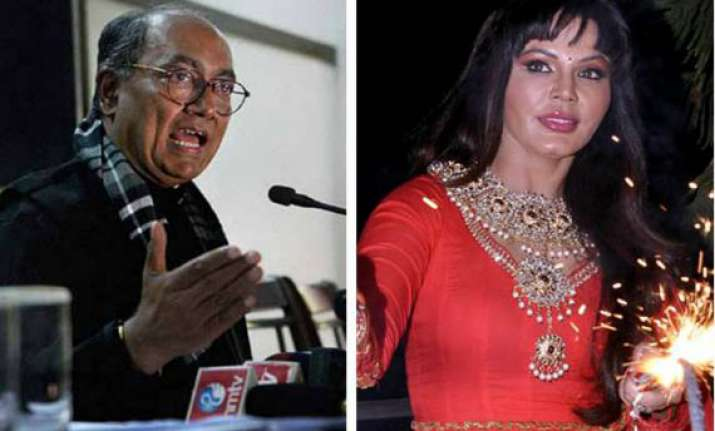 rakhi sawant files complaint against digvijay says he s