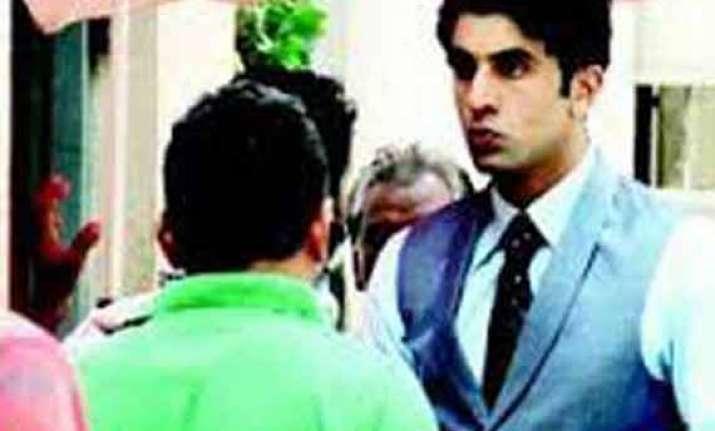 ranbir kapoor s first look in bombay velvet leaked view pics