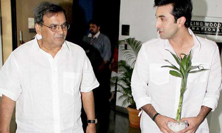 ranbir declines to work for subhash ghai