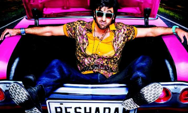 ranbir kapoor s besharam first look out