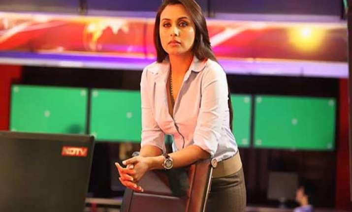 rani mukherji to play a journalist again in next film