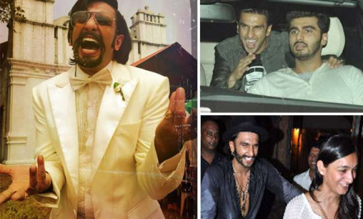 ranveer singh finding fanny laughing first look out how is