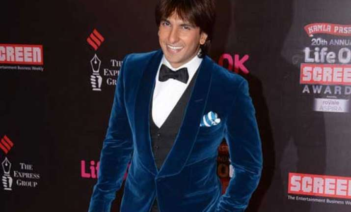 ranveer singh doubts over the credibility of award
