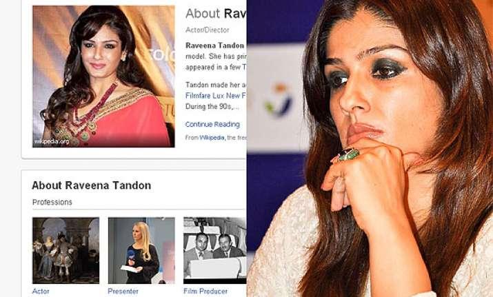 raveena tandon i m not on facebook