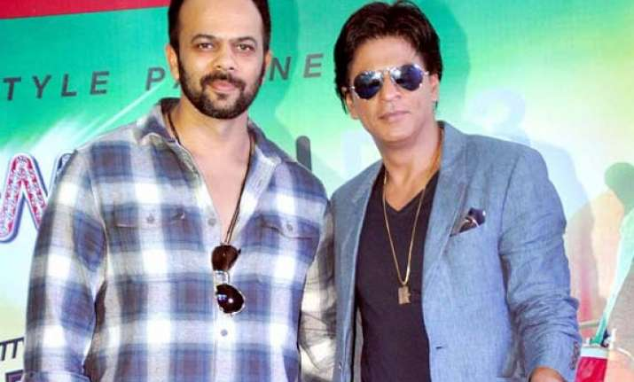rohit shetty has found a family member in shah rukh khan