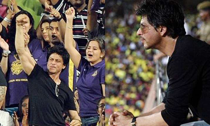 shah rukh s top 6 candid moments during ipl matches see pics
