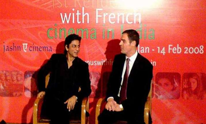 srk conferred france s highest honour