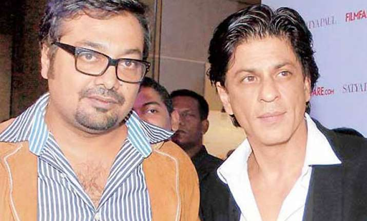 anurag kashyap to cast shah rukh khan in his next movie