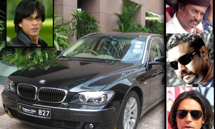 srk to gift bmw cars to arjun rajinikanth anubhav