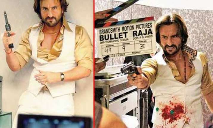 saif ali khan sonakshi sinha spotted on the sets of bullet