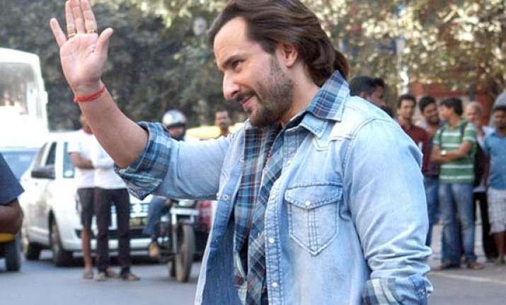 saif ali khan gets tanned for bullett raja