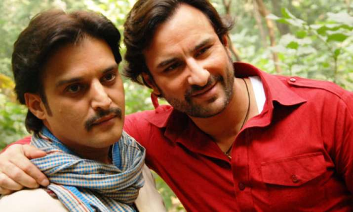 saif does a butch cassidy and the sundance kid with jimmy