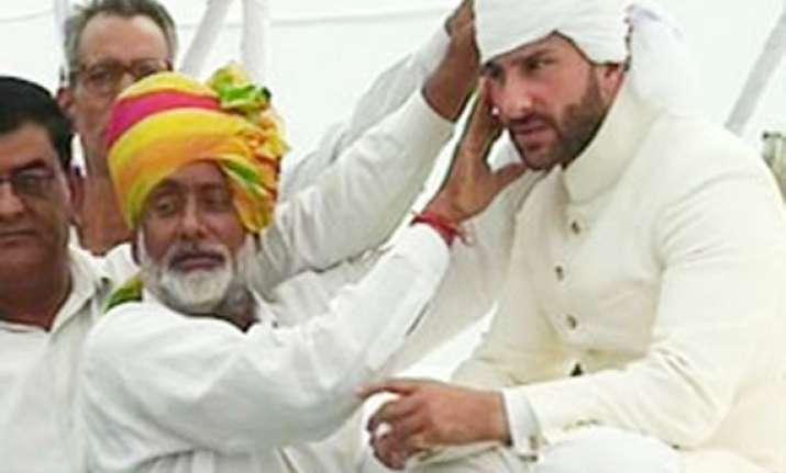 saif ali khan anointed 10th nawab of pataudi