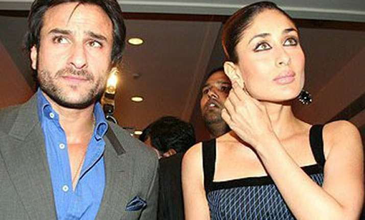saif tempts for mujra performed by kareena