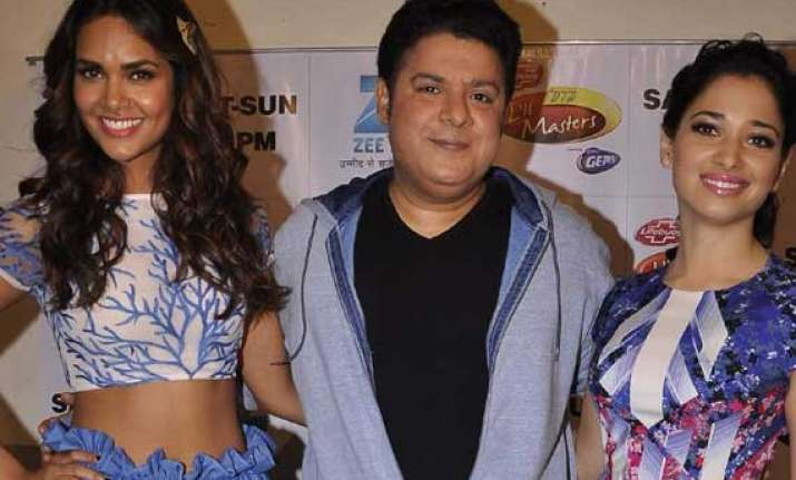 sajid khan to promote humshakals on did little masters