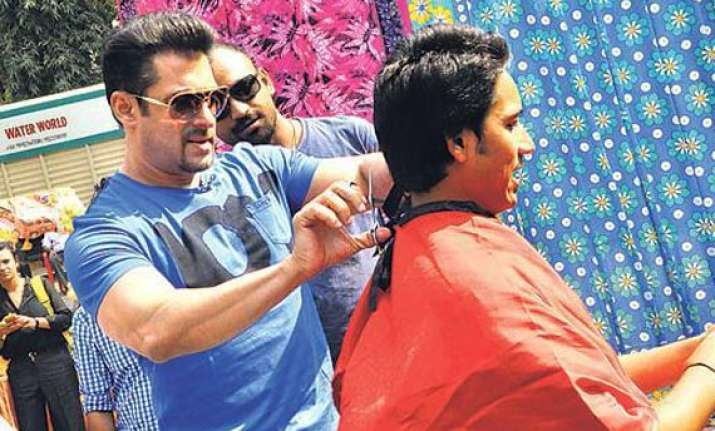 salman khan to turn barber karan johar into a lensman for