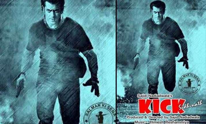 salman khan s kick first poster out view pics