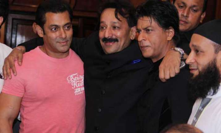 salman shah rukh s patch up oh really