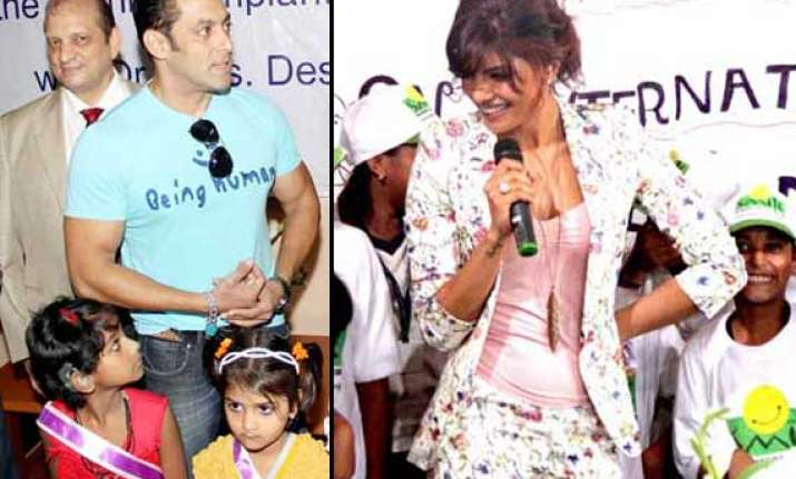salman and priyanka s day out with kids view pics