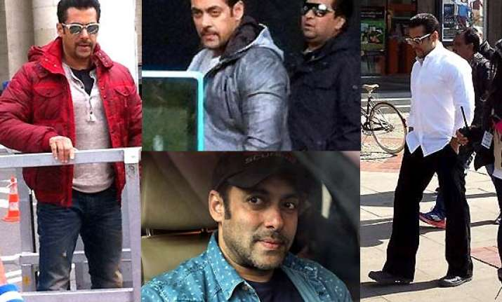 salman khan shoots for kick in warsaw view all pics
