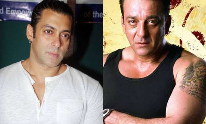 salman had a spat with sanjay dutt