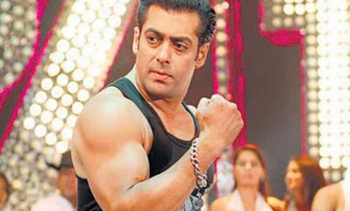 salman khan training hard for body guard
