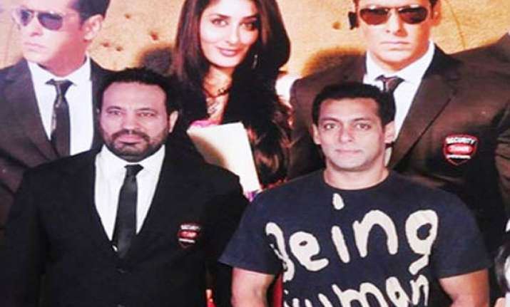 salman prays that his bodyguard does not write book on him