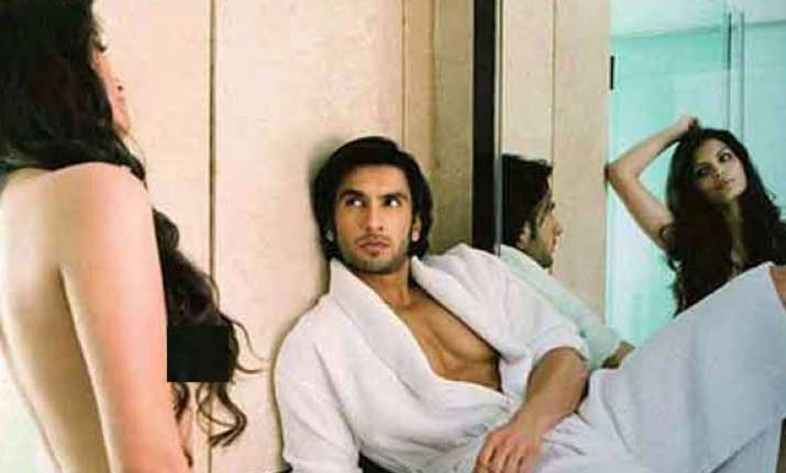 sexy ranveer singh carries a condom all the time watch