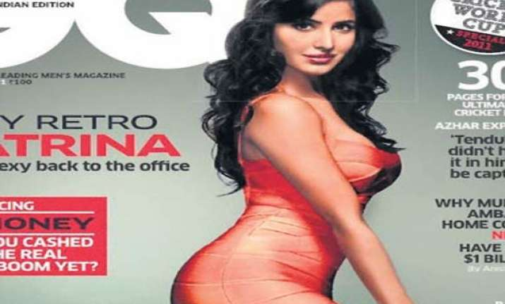 sexy katrina on cover of a men s magazine