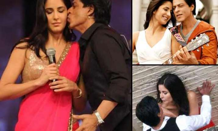 shah rukh khan katrina kaif to romance again in raees