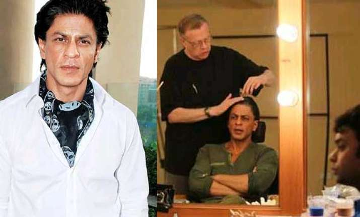 shah rukh khan s fan look a challenge for oscar winnner