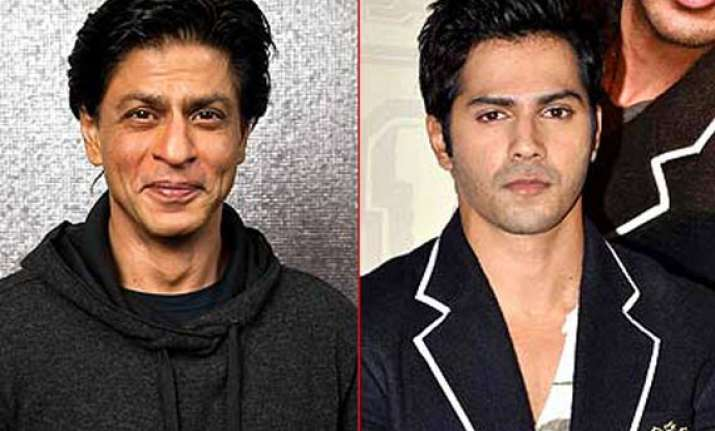 shah rukh is varun dhawan s role model for film marketing