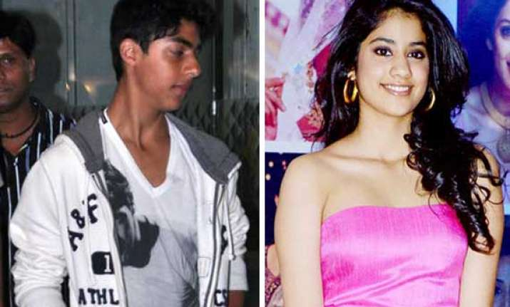 shah rukh s son aryan and sridevi s daughter jhanvi to