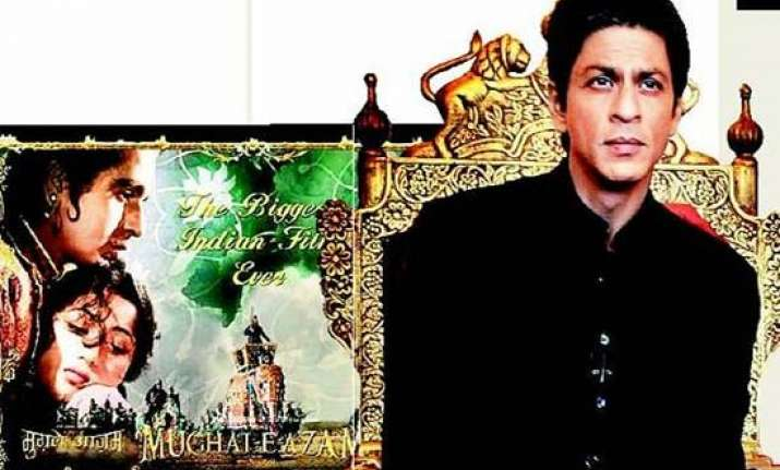 shah rukh makes docu on mughal e azam