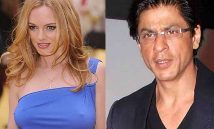 shah rukh offers heather graham a role in bollywood