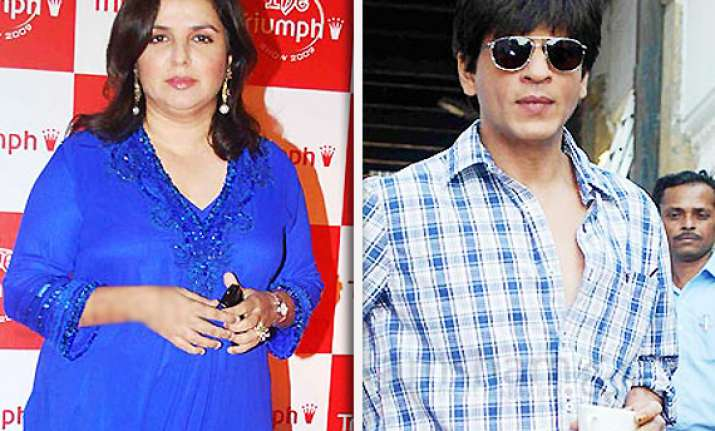 shah rukh to work in farah khan s film