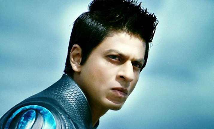 shah rukh s ra.one does rs 100 cr business