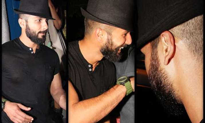 shahid kapoor s latest haider look out see pics