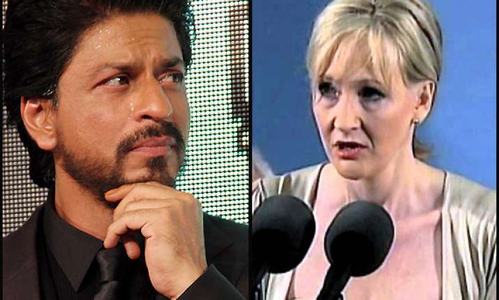 shah rukh s speech writer plagiarised j k rowling s