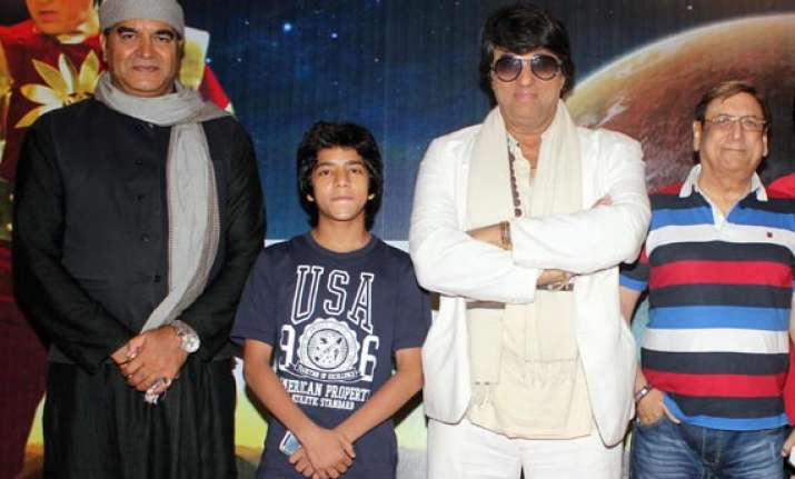 shaktimaan introduces junior shaktimaan in a tele film view