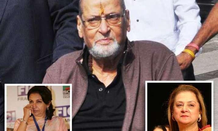 shammi kapoor s leading ladies condole his death