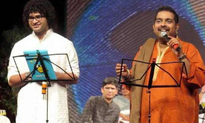 shankar mahadevan s son siddharth sings for animation movie