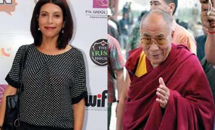 shilpa shukla to attend dalai lama s kalachakra initiation