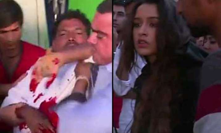 shocking shraddha kapoor stabs a stuntman on the sets of ek