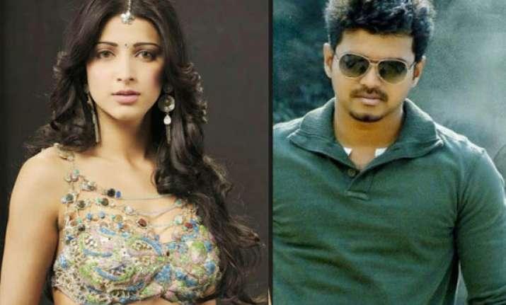 shruti haasan confirms film with vijay