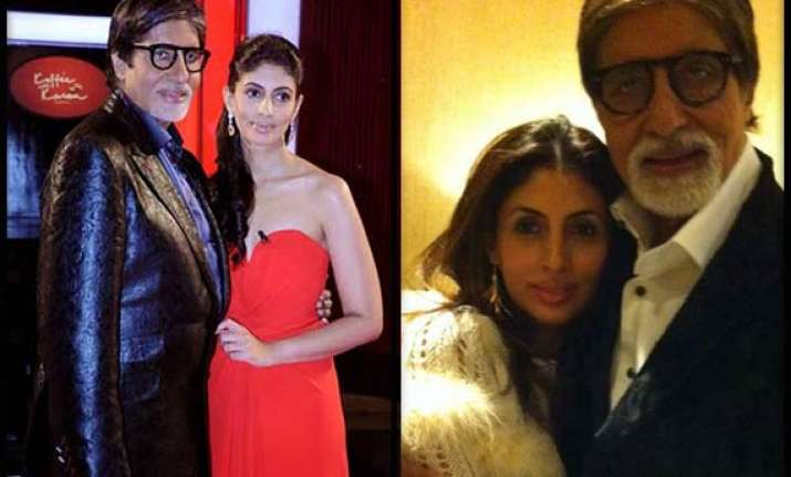 amitabh bachchan daughters have a sense of the sixth
