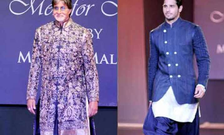 sidharth malhotra trilled to walk with big b at mijwan